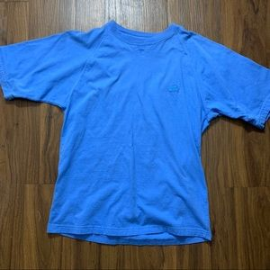 Starter tee. Size small fits large